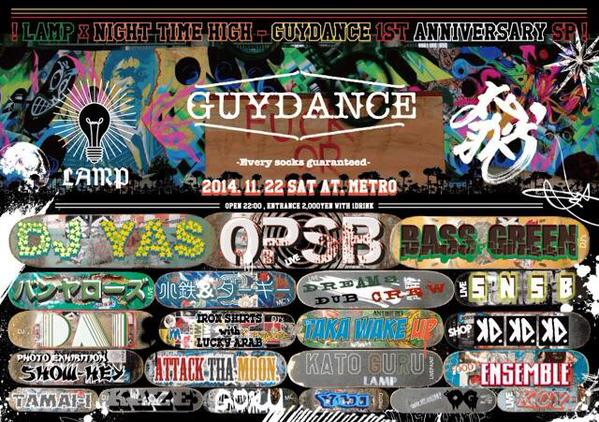 "LAMP×NIGHT TIME HIGH ""GUYDANCE 1st Anniversary SP!!"""